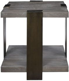 Vanguard Furniture: P435E-AT - Aries (Side Table)