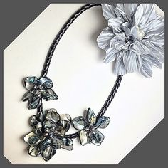 """Selling this """"Handmade Baroque Shell Pearl Flower Necklace"""" in my Poshmark closet! My username is: rjoneal. #shopmycloset #poshmark #fashion #shopping #style #forsale #Jewelry"""
