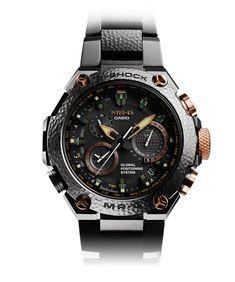 Introducing the G-Shock MR-G Anniversary in Hand-Hammered Titanium - vintage watches, gruen watch, vintage watches *ad G Shock Watches Mens, Best Watches For Men, Casio G Shock, Sport Watches, Cool Watches, Rifles, Casio Vintage, Vintage Watches, Watch Brands