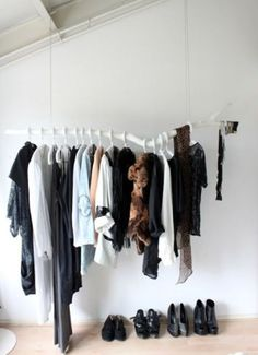 Tree branch for hanging clothes