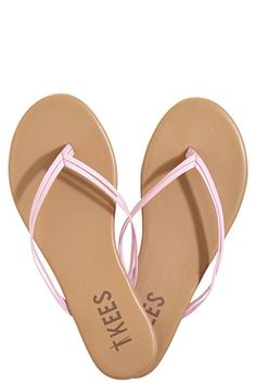 b789ca084652e Harmony Breast Cancer Awareness Flip Flops Pink Flats
