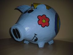 Sehr grosses Sparschwein - NANA DESIGN 1 - Geldgeschenk - Geschenkidee - Unikat
