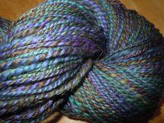 pretty handspun yarn