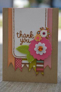 """Thank You"" card by Allison Davis"