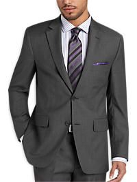 Pronto Uomo Gray Modern Fit Suit
