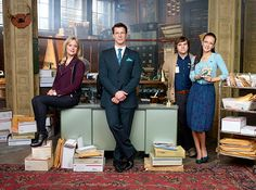"""Hallmark Channel's original scripted series """"Signed Sealed Delivered"""" will be moving to sister network Hallmark Movies & Mysteries as a movie franchise....love this series!!!!!."""