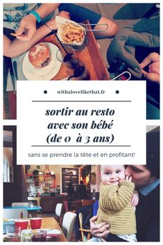 sortir au resto avec son bébé, nos astuces Baby Co, Our Baby, Baby Kids, Stress, Traveling With Baby, Baby Hacks, Kids And Parenting, Lifestyle Blog, Sons
