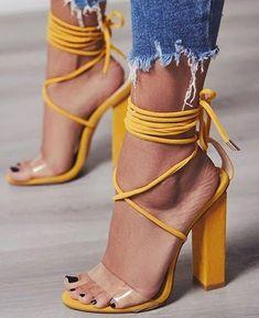 744ed22fba602 PVC Transparent Heels Party Sandal Shoes