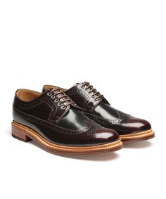 """Grenson has been making shoes since 1866. It takes up to 8 weeks to make a pair of shoes and involves over 200 individual steps. All of their shoes are """"Goodyear Welted"""". This is a shoemaking techniqu"""