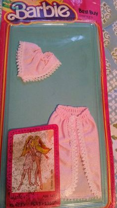Barbie Best Buy fashions Half slip and underpants.  #1350   1978   NEW