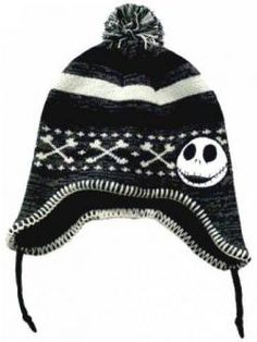 1842a47de11 Nightmare Before Christmas Jack Skellington Beanie Hat Concept