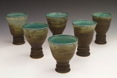 """Wine Goblets  Approx. 4"""" x 4"""" x 5.5"""""""