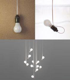 Dar la vuelta la bombilla/ Turn the bulb    #recycle design