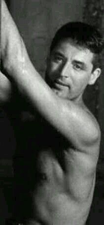 Oh yeah! Cary Grant without a shirt.  Is this real?  LOL.