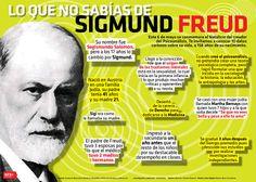 Lo que no sabías de Sigmund Freud Este 6 de mayo se conmemora el 158 Aniversario del Natalicio del creador del Psicoanálisis. Te invitamos a conocer 10 datos curiosos sobre su vida. #Infografia