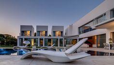 Cubes Design House with Luxury Pool in Ramot Hashavim, Israel | Studio5555