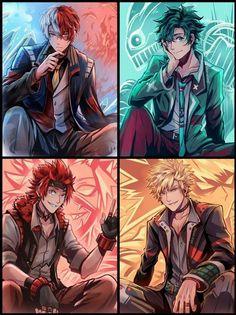 Boku No Hero Academia Funny, My Hero Academia Shouto, My Hero Academia Episodes, Hero Academia Characters, Kirishima My Hero Academia, All Anime Characters, Boku No Academia, Cute Anime Character, Character Art