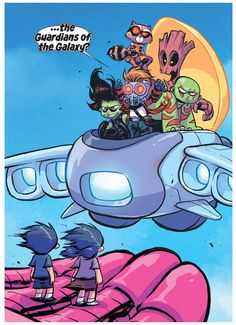 Giant Size Little Marvel: AVX #3 by Skottie Young *