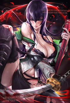 Face Book llOnline Store ll Tumblr ll Help support me on Patreon and get special perks<3llArtstationlInstagram(new) gumroad(tutorial store)  Saeko from High sc...