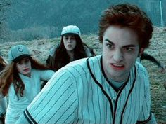 "Idek Edward's face says ""Hell nah"" but Esme's says ""oh shit it's goin down."""