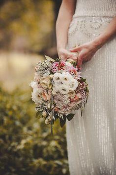 Dusty-pink-wedding-bouquet.jpg (580×870)