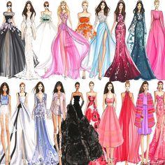 """Gown party  #fashionsketch #fashionillustrator #fashionillustration #bostonblogger #illustration #illustrator #hnicholsillustration #copicart #copic…"""