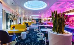 Sisustusarkkitehtitoimisto dSign Vertti Kivi & Co. Retro, bar, Viking Grace