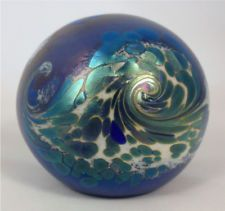 Orient & Flume's Iridescent Ocean Waves Paperweight!