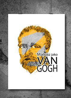 drawing i draw like Van Gogh Vincent van Gogh artist my design my draws