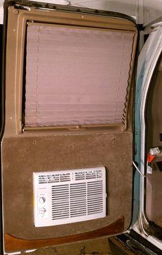 DIY A/C window unit in rear van door - Expedition Portal