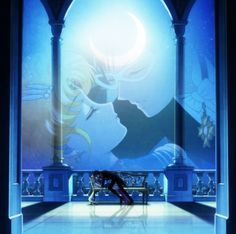 "Sailor Moon Crystal - Usagi Tsukino, Serena Tsukino, Bunny Tsukino, ""Sailor Moon"" y Darien Chiba, Mamoru Chiba, ""Tuxedo Mask"", ""Tuxedo Kamen""."