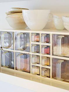 Gammel krydderhylle  Designeren omgir seg ikke bare med eksotiske reiseminner og eget design. Krydderhyllen på kjøkkenet er et kjært og nostalgisk minne fra mormor.  Neste »
