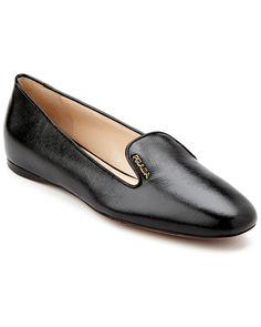 Prada Leather Smoking Slipper is on Rue. Shop it now.