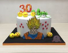 Torta goku. Torta dragon ball z
