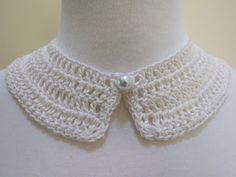 Mel P Designs: Free Crochet Peter Pan Collar Pattern