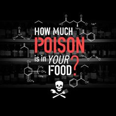 How much poison is in your food?