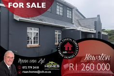 Situated on a corner plot on the seaside of Lower Marine Drive, close to the popular Hawston day camping and swimming pool, this house affords its owners the opportunity to enjoy follow the footpaths over and through the preserved sand dunes to one of the most gorgeous beaches on the Cape coast, Hawston Beach. This was awarded a Blue Flag beach status in 2013, in recognition of its beauty, safety, and biodiversity. #CCH #hawston #hermanus #overberg #4bedroom #houseforsale #riaanvanzyl Double Storey House, Blue Flag, 4 Bedroom House, Coastal Homes, Seaside, Beaches, Opportunity, Swimming Pools, Cape
