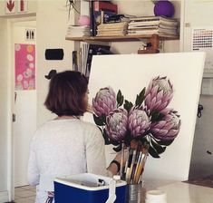 Painting at Studio 3 in Durban South Africa. Durban South Africa, Studio, Artist, Artwork, Painting, Work Of Art, Auguste Rodin Artwork, Painting Art, Artworks