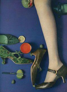 August Vogue 1958 | Photo William Klein