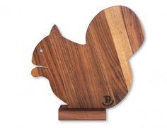 tagliere legno scoiattolo