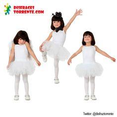 Disfraz de Bailarina ballet niña. Un disfraz de bailarina de ballet muy chulo y con muchas posibilidades.
