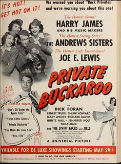 Private Buckaroo - Motion Picture Herald