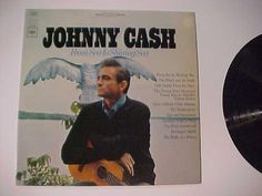 RARE Old Rock Country Music Record Album~JOHNNY CASH~ Vintage Vinyl Disc LP 1968 #CountryPopCountryRockEarlyCountry