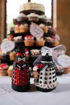 Wedding Daleks!