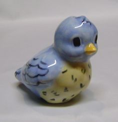 Bluebird Pie Bird by JNCeramics on Etsy