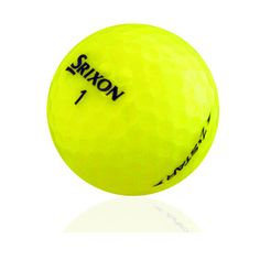 Srixon Z Star Yellow Mix AAAAA Pre-Owned Golf Balls - 12 pcs Premium  Quality Used Golf Balls Save up to off the price of new golf balls Money  Back Guarantee ... 70fb0ea78