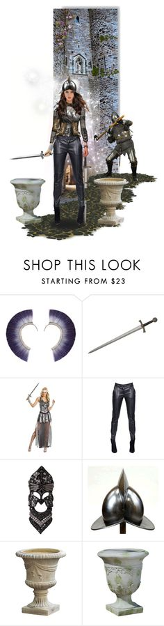 """Historical Heroines"" by aurora-honeysuckle ❤ liked on Polyvore featuring Bjørg, Dreamgirl, Giorgio Armani, Bochic, Conquistador and Christopher Knight Home"
