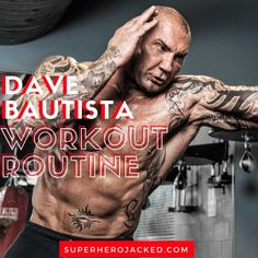 Dave Bautista Workout Routine: From Professional Wrestling to Drax the Destroyer – Superhero Jacked Pull Up Workout, Workout Splits, Workout Plan For Men, Weekly Workout Plans, Gym Workout Tips, Workout Routines, Hercules Workout, Dumbbell Only Workout, Wrestling Workout