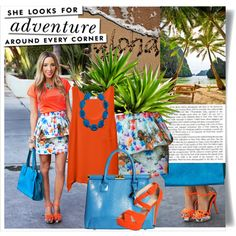 """""""Tropical"""" by nichole-menard on Polyvore"""