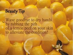 Beauty Tip for Dry Hands